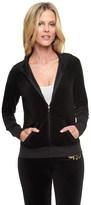 Juicy Couture Logo Velour Flourished Crest Original Jacket