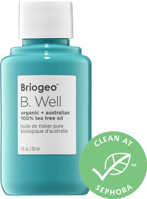 BRIOGEO B. Well Organic + Australian 100% Tea Tree Skin & Scalp Oil