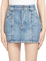 Saint Laurent Denim Mini Skirt