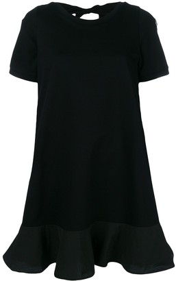 Moncler cut-out back T-shirt dress