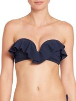 Zimmermann Separates Frill Bandeau Bikini Top