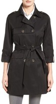 Vince Camuto Women's Double Gunflap Trench Coat