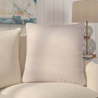 Rockwell Rosecliff Heights Solid Silk Throw Pillow Rosecliff Heights Fill Material: Down/Feather
