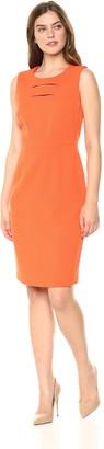 Kasper Women's Knit Pique Dress