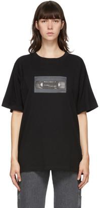 MM6 MAISON MARGIELA Black VHS Graphic T-Shirt
