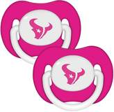 Baby Fanatic Pink Pacifier 2 Pk by
