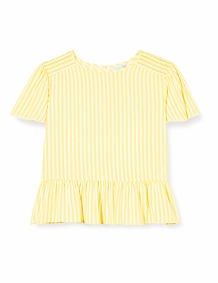 Name It Girl's Nkffaya Ss Blouse T-Shirt