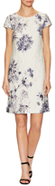 Donna Ricco Floral Printed Lace Dress