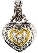 Judith Ripka JR Two Diamond Heart Enhancer