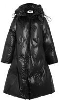 MM6 MAISON MARGIELA Convertible Shell Down Coat - Black