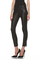 Joseph Evie Leather Pant in Black