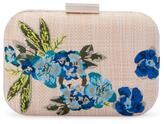 Olga Berg LANI Floral Embroidered Clutch