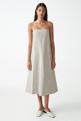 Cos Linen Tailored Dress