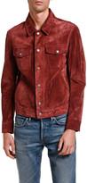 Tom Ford Men's Suede Trucker Jacket