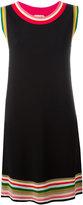 No.21 striped detail shift dress - women - Polyamide/Polyester/Viscose - 40