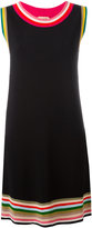 No.21 striped detail shift dress - women - Polyamide/Polyester/Viscose - 42