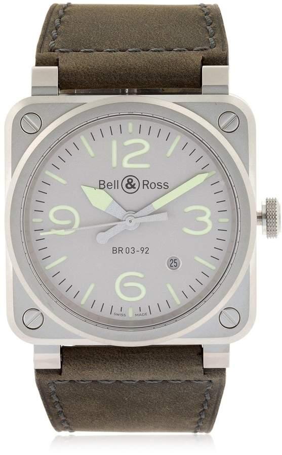 Bell & Ross Limited Edition Horolum Steel Watch