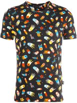 Love Moschino allover print T-shirt