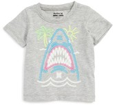 Hurley Infant Boy's Neon Shark Graphic T-Shirt