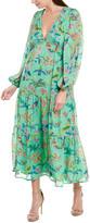 Banjanan Laura Silk-Blend Maxi Dress