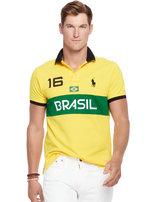 Ralph Lauren Custom-fit Brasil Polo Shirt