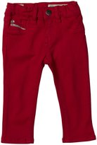 Diesel Livier Super Slim Jeggings (Baby) - Barberry Red-3 Months