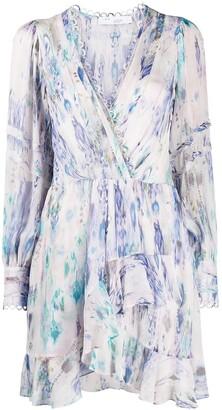 IRO Kolmi abstract-print mini dress