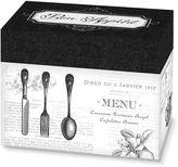 Lillian Rose Lillian RoseTM Bon Appetit Recipe Box in Black