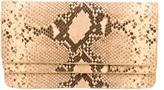 Dries Van Noten Embossed Leather Clutch