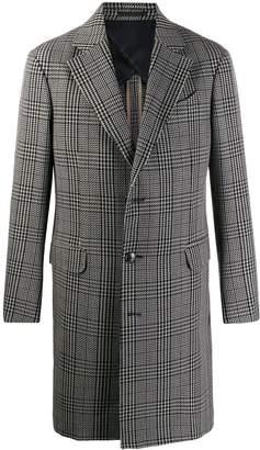 Ermenegildo Zegna houndstooth wool coat