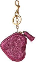 Anya Hindmarch Metallic Leather Keychain