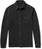 The Elder Statesman Oversized Cashmere Shirt