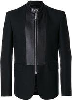 Les Hommes panelled zipped blazer