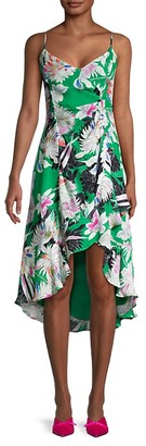 Parker Colleen Floral High-Low Dress