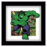 Marvel Heroes Hulk Panels Framed 5D Photo