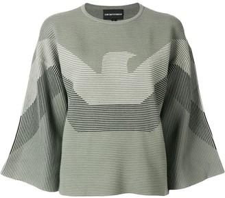 Emporio Armani Blended Logo Sweater