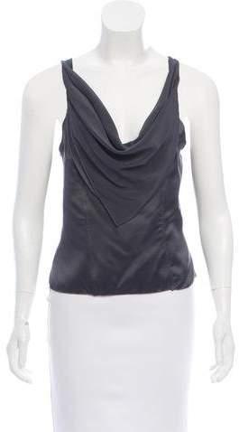 Behnaz Sarafpour Sleeveless Silk Top w/ Tags