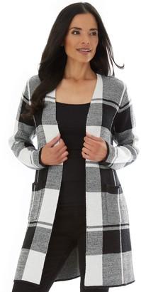Apt. 9 Women's Sweater Coatigan