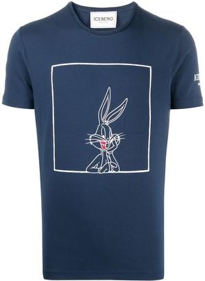 Iceberg Bugs Bunny-print slim-fit T-shirt