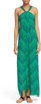 Diane von Furstenberg 'Lilita' Print Silk Maxi Dress