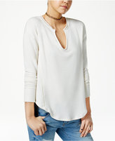 American Rag Split-Neck Sweatshirt, Only at Macy's