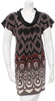 Tibi Printed Silk Tunic
