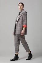 Amanda Wakeley Prince of Wales Check Jacket