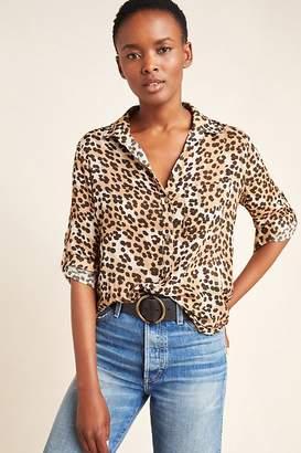 Cloth & Stone Lana Leopard Blouse