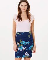 Review Icarus Floral Skirt