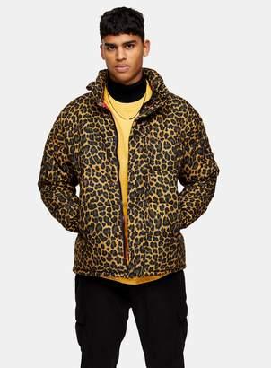 Schott TopmanTopman Leopard Print Jacket