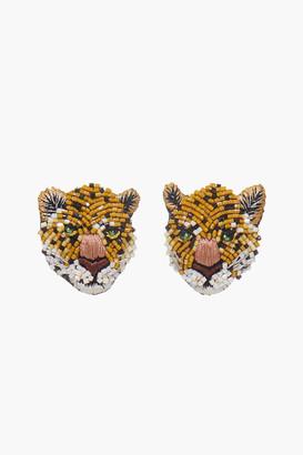 Mignonne Gavigan Leopard Stud Earring