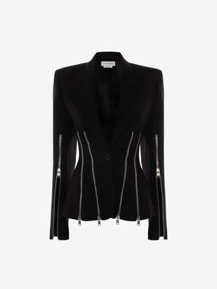 Alexander McQueen Punk Zipper Jacket
