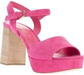 Car Shoe block heel sandal