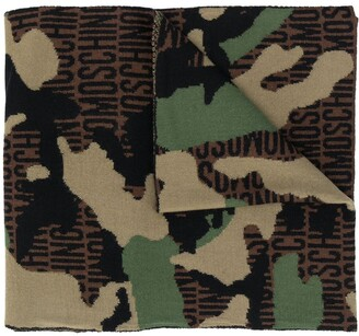 Moschino Lost & Found wool scarf